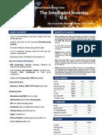 Dec/1/2010 - The Intelligent Investors Free UK edition