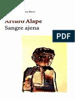Arturo Alape - Sangre ajena, testimonio de un sicario