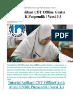 tutoril unbk offline1