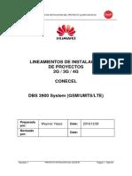 Lineamientos de Instalacion Proyecto_3900_3910 2G_3G_4G_TP48200 CLARO_final_v3