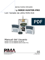 Hunter-8 Manual de UsuarioRX-416