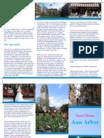 Week 9 Lab - Ann Arobr Brochure