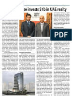 Property House invests $1b in UAE realty - TBW May 25 - Corporate Focus