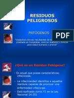 RESIDUOS PATOGENOS