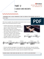 Variations of Piano scale practice