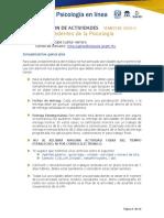 PROGRAMACIÓN DE ACTIVIDADES SEMESTRE 2020-2