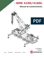 Manual de Mantenimiento gmk 4100