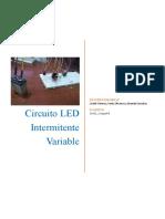 CIRCUITO LED INTERMITENTE VARIABLE