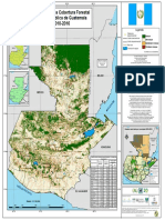 Guatemala Forest Coverage Map