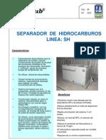 Linea SH - ores de Hidrocarburos de Agua