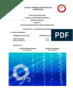 GUIA PRACTICA 5 Q.I. OBTENCION DE OXIGENO