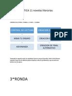 PLAN DE GRAMATICA 11 novelas literarias.docx