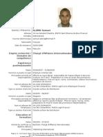Europass CV Samuel ALAMA