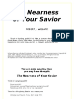 The Nearness of Your Savior - Robert J. Wieland - word 2003