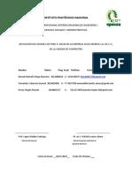APLICACIÓN MODELO DE FRED R. DAVID EN LA EMPRESA SALAS MERIDA S.A. DE C.V.