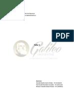Taller 1 - Implementación y Evaluación Administrativa 2