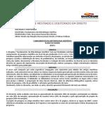METODOLOGIA CIENTÍFICA - UNICEUB