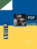 AA500 User Manual