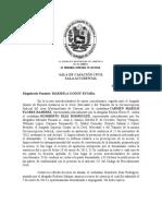 SALA DE CASACIÓN CIVIL Sentencia nº RC.000643 de Tribunal Supremo de Justicia union estable de hecho