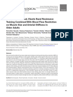 Effects of Low-Load, Elastic Band Resistance Training Combined With Blood Flow Restriction on Muscle Size and Arterial Stiffness in OlderAdults.pdf
