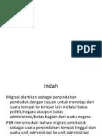 PPT Migrasi