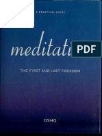 Meditation - The First and Last Freedom