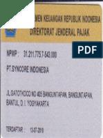 06 NPWP Perusahaan
