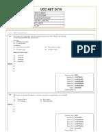 UGC NET December law 2019 question paper