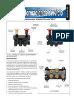 Módulo del tablero de instrumentos de control Bendix MV-3