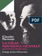 La Vieja y Nueva Gestalt