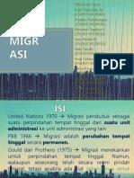 MIGRASI – Kelas A 2014