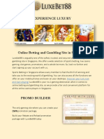 Online Betting and Gambling Site in Singapore