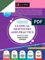 Clinical Dentistry 2020 Scientific Program
