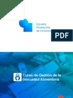 Brochure - Gestión de la Inocuidad Alimentaria