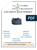 Report on Amaron Batteries Ltd.