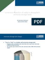 Inspection of Ammonia Storage Tanks
