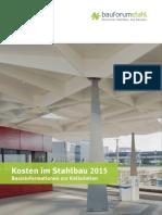 Kosten im Stahlbau 2015