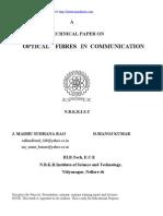 Optical Fibers in Communication