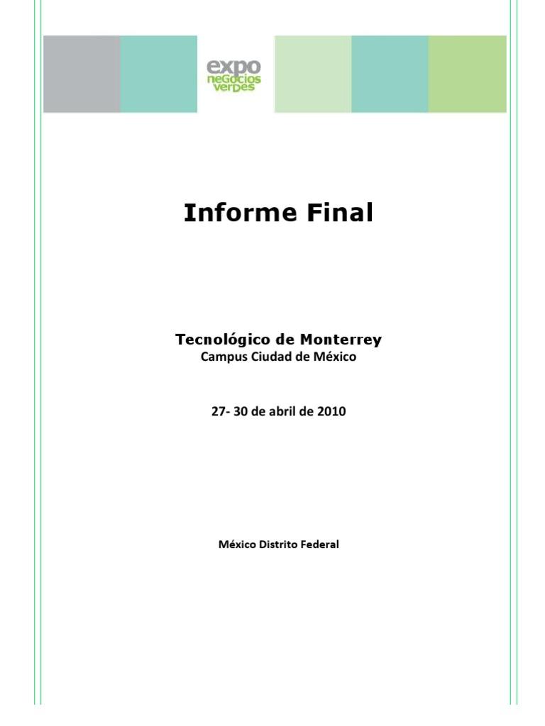 Reporte ENV 2010