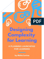 Designing Complexity for Learning Toolkit by Aloha Lavina