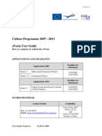 Culture Eform 2009 User Guide Version2 En