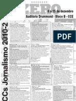Defesa de TCCs - Jornalismo - UFSC - 2010.2 (parte I)