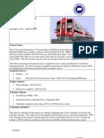 M-8 Rail Car Project Documents