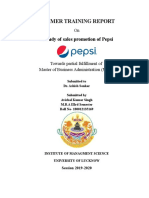A study of sales promotion of pepsi.docx