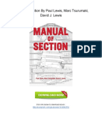 [U598.Book] Download PDF Manual of Section By Paul Lewis, Marc Tsurumaki, David J. Lewis.pdf