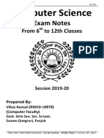 All Computer Science Notes-Punjabi medium from 6th to 12th Session 2019-20.pdf