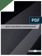 Deutz-fahr Brand Identity Guidelines 140207 En