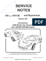 Lotus Elise_service-notes