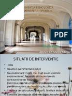 INTERVENTIA PSIHOLOGICA