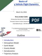 Basics of Reentry Vehicle Flight Dynamics